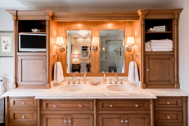 Brookwood Company Custom Bathroom Cabinets3